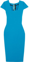 Roland Mouret Whistler Stretch-crepe Dress - Blue