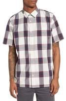 Vans Mayfield Short Sleeve Plaid Shirt