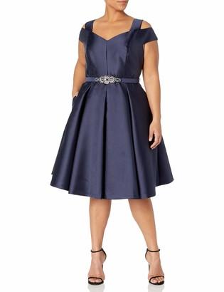 Eliza J Women's Size Off The Shoulder Flared Dress