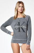 Calvin Klein For PacSun Oversized Crew Neck Sweatshirt