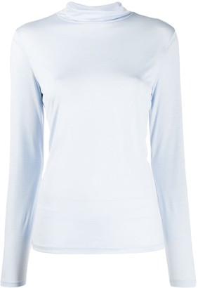 Filippa K Roll-Neck Long Sleeve Top