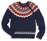 Ralph Lauren Toddler's, Little Boy's & Boy's Fair Isle Knit Sweater