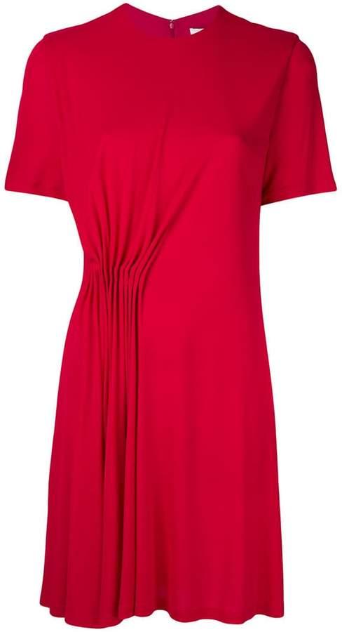 Givenchy gathered detail short dress