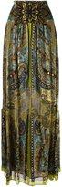 Etro paisley print maxi-skirt - women - Silk/Polyamide/Viscose - 44