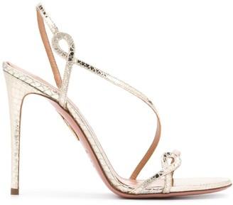 Aquazzura Serpentine 105 sandals