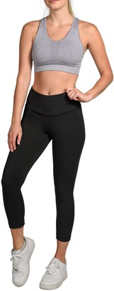 90 Degree By Reflex Interlink High Waist V-Back Capri Leggings