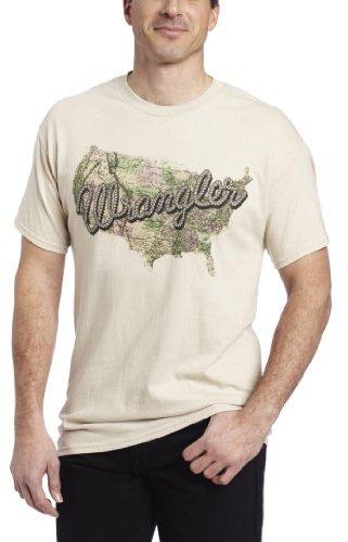 Wrangler Men's Western Printed Tee