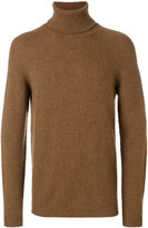 Roberto Collina ribbed turtleneck jumper - men - Nylon/Camel Hair/Merino - 50