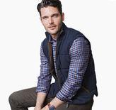 Johnston & Murphy Reversible Knit/Nylon Vest