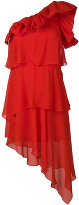 Givenchy one-shoulder dress