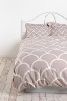 Urban Outfitters Stamped Scallop Duvet Cover