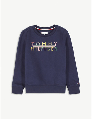 Tommy Hilfiger Logo cotton sweatshirt 4-16 years