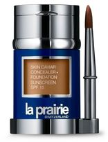 La Prairie Skin Caviar Concealer • Foundation Sunscreen SPF 15/1 oz.