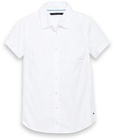Tommy Hilfiger Final Sale- Short Sleeve Solid Shirt