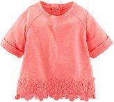 Osh Kosh Oshkosh Baby Bgosh Neon Crocheted Top - Baby Girls newborn-24m