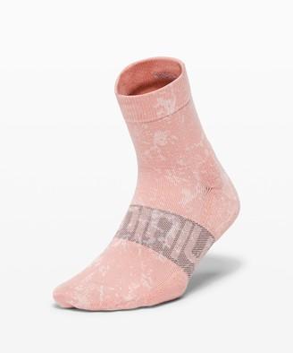 Lululemon Daily Stride Mid Crew Sock *Ice Dye