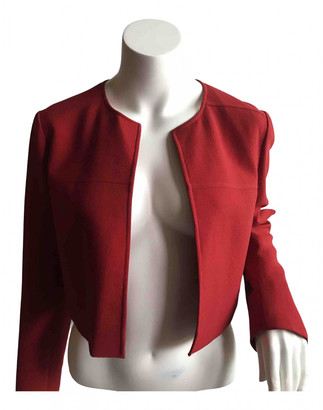 Paule Ka Red Polyester Jackets