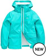 Trespass Girls Nella Rubberised Waterproof Jacket