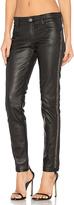 Etienne Marcel Leather Studded Skinny in Black