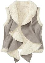 Old Navy Girls Faux-Fur Sherpa Vests