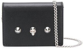 Alexander McQueen mini Skull and Stud crossbody bag