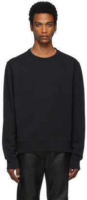 Maison Margiela Black Decortique Elbow Patch Sweatshirt