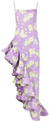 Giuseppe di Morabito Ruffled-Tail Fitted Dress