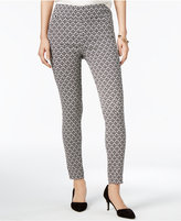 Bar III Jaquard Pull-On Pants, Only at Macy's