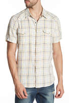 Lucky Brand Santa Fe Western Short Sleeve Button Up Shirt