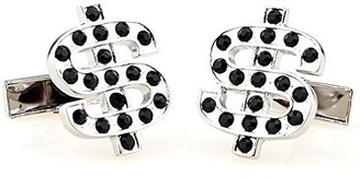TEROON 609454 Unisex Cufflinks DOLLAR SIGN