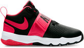 Nike Little Boys' Team Hustle D8 Basketball Sneakers from Finish Line