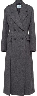 Prada Double-Breasted Coat