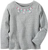 Carter's Baby Girl Tassel Necklace Top
