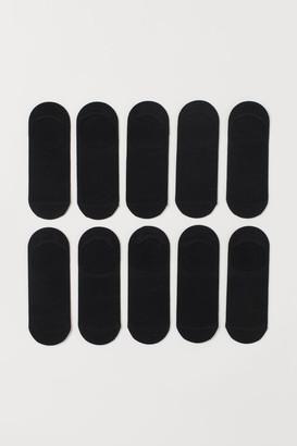 H&M 10-pack Mesh Socks - Black