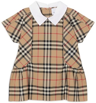 Burberry Kids Cotton Vintage Check Dress