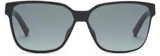 Christian Dior Diorflag D-frame Acetate Sunglasses - Black