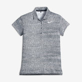 Nike Dry Printed Big Kids' (Girls') Printed Golf Polo
