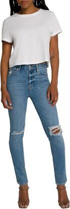 Good American High Waist Skinny Jeans