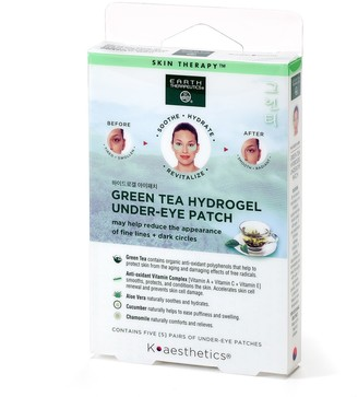 Earth Therapeutics Green Tea Hydrogel Undereye Patch
