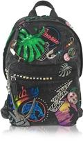 Marc Jacobs Paradise Black Nylon Biker Backpack