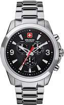 Swiss Military Hanowa Men's Predator 06-5169-04-007 Stainless-Steel Swiss Quartz Watch with Carbon-Fiber Dial