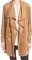 Vince Camuto Women's Faux Suede Wrap Coat
