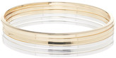 Kenneth Cole New York Metallic Bangle Set
