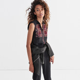 Madewell Embroidered Silk Folkway Jumpsuit