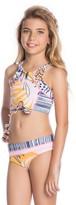 Maaji Pineapple Sunset 2-Piece Swimsuit (Big Girls)