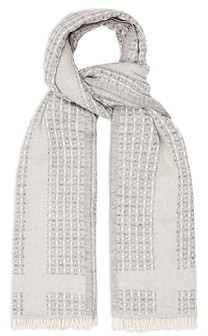Reiss Claire Waffle Scarf