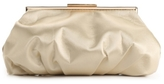 Townsend Lulu Gathered Satin Clutch