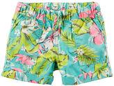 Carter's Pull-On Printed Poplin Shorts