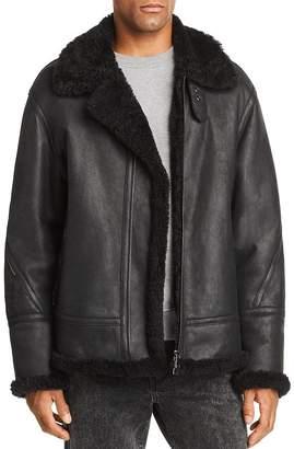 Maximilian Furs Lamb Shearling Jacket