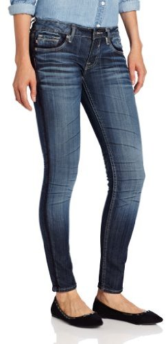 Vigoss Skinny Jean Jagger Navy Piping Jean